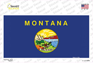 Montana State Flag Wholesale Novelty Sticker Decal