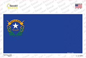 Nevada State Flag Wholesale Novelty Sticker Decal
