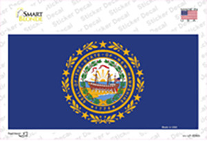 New Hampshire State Flag Wholesale Novelty Sticker Decal