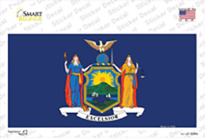 New York State Flag Wholesale Novelty Sticker Decal