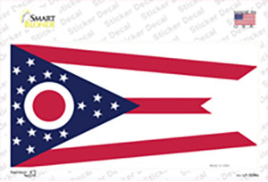 Ohio State Flag Wholesale Novelty Sticker Decal