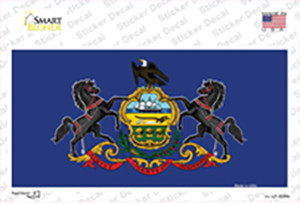 Pennsylvania State Flag Wholesale Novelty Sticker Decal