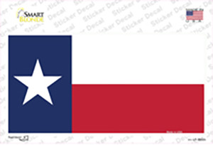 Texas State Flag Wholesale Novelty Sticker Decal