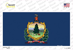 Vermont State Flag Wholesale Novelty Sticker Decal