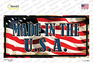 Made In The USA Wholesale Novelty Sticker Decal