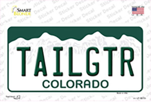 Tailgtr Colorado Wholesale Novelty Sticker Decal