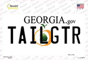 Tailgtr Georgia Wholesale Novelty Sticker Decal