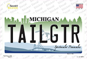 Tailgtr Michigan Wholesale Novelty Sticker Decal