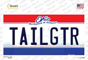 Tailgtr Ohio State Wholesale Novelty Sticker Decal