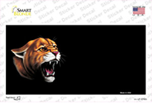 Cougar Offset Wholesale Novelty Sticker Decal
