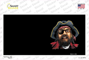 Pirate Offset Wholesale Novelty Sticker Decal