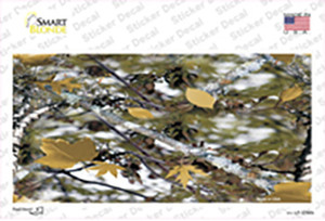 Real Leaf Camouflage Wholesale Novelty Sticker Decal