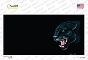 Panther Offset Profile Wholesale Novelty Sticker Decal