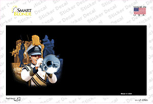 Marching Band Offset Wholesale Novelty Sticker Decal