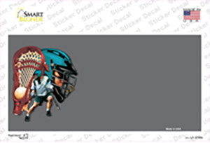 Lacrosse Offset Wholesale Novelty Sticker Decal