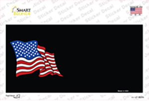 American Flag Offset Wholesale Novelty Sticker Decal