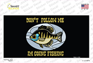 Dont Follow Me Wholesale Novelty Sticker Decal