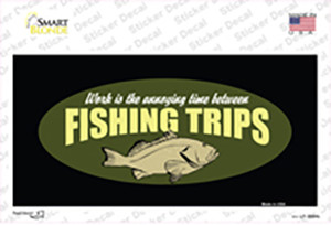 Fishing Trips Wholesale Novelty Sticker Decal