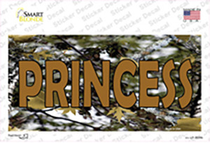 Princess Camouflage Wholesale Novelty Sticker Decal
