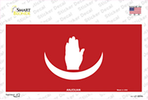 Anjouan Flag Wholesale Novelty Sticker Decal