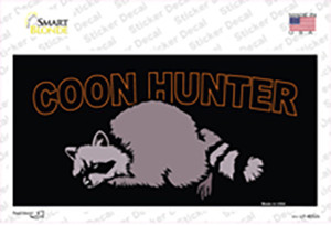 Coon Hunter Wholesale Novelty Sticker Decal