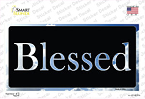 Blessed Blue Sky Cloud Wholesale Novelty Sticker Decal