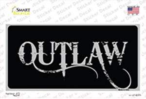 Outlaw Wholesale Novelty Sticker Decal
