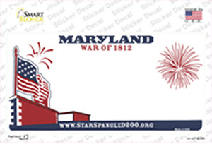 Maryland State Wholesale Novelty Sticker Decal