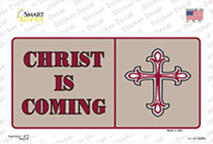 Christ Is Coming Wholesale Novelty Sticker Decal