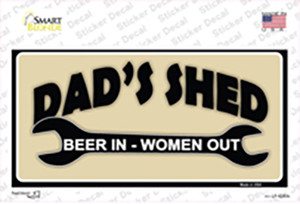 Beer In Women Out Wholesale Novelty Sticker Decal