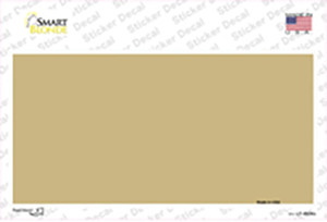 Gold Solid Wholesale Novelty Sticker Decal