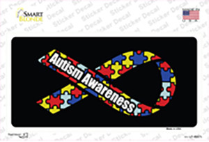 Autism Awareness Ribbon Wholesale Novelty Sticker Decal
