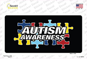 Autism Awareness Wholesale Novelty Sticker Decal