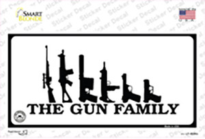 The Gun Family Wholesale Novelty Sticker Decal