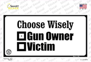 Choose Wisely Wholesale Novelty Sticker Decal