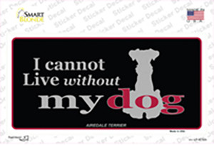 Airedale Terrier Wholesale Novelty Sticker Decal
