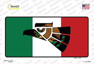 Made In Mexico Flag Wholesale Novelty Sticker Decal