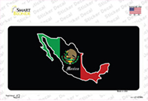 Mexico Background Wholesale Novelty Sticker Decal