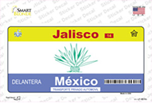 Jalisco Mexico Wholesale Novelty Sticker Decal