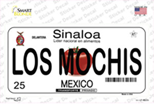 Los Mochis Mexico Wholesale Novelty Sticker Decal