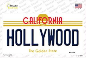 Hollywood California Wholesale Novelty Sticker Decal