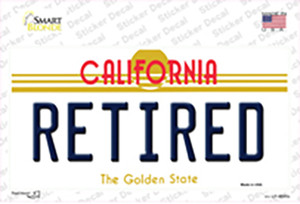 Retired California Wholesale Novelty Sticker Decal