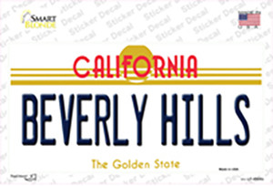 Beverly Hills California Wholesale Novelty Sticker Decal