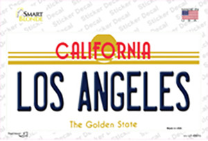 Los Angeles California State Wholesale Novelty Sticker Decal