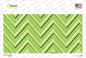 Lime Green Lighter Lime Green Chevron Wholesale Novelty Sticker Decal