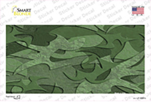 Green Camouflage Wholesale Novelty Sticker Decal