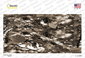 Leaf Camouflage Wholesale Novelty Sticker Decal