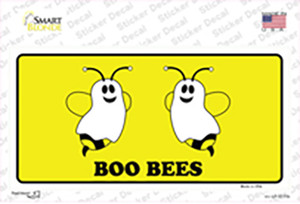 Boo Bees Wholesale Novelty Sticker Decal