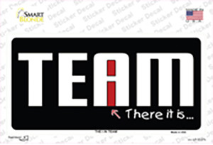 I In Team Wholesale Novelty Sticker Decal