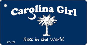 Carolina Girl Blue Wholesale Novelty Key Chain